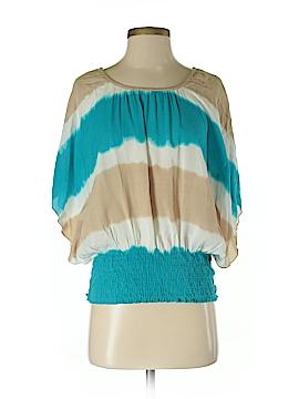 Unique Short Sleeve Blouse Size S