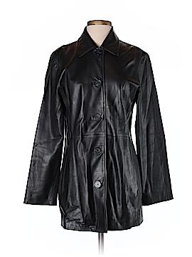 JLC New York Faux Leather Jacket Size S