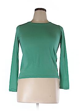 Elie Tahari Long Sleeve T-Shirt Size L