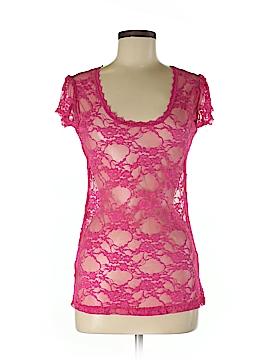 DownEast Basics Short Sleeve Top Size M