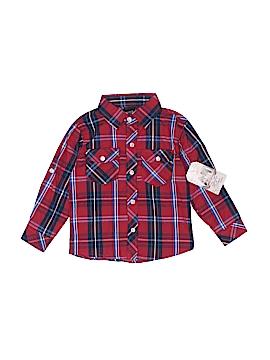 American Hero Long Sleeve Button-Down Shirt Size 4