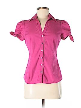 Express Design Studio Short Sleeve Button-Down Shirt Size S