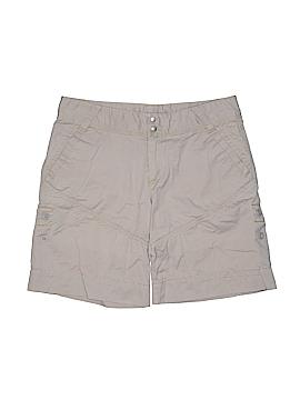 Athleta Khaki Shorts Size 6