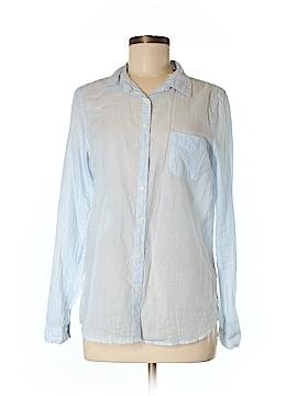 Maison Scotch Long Sleeve Button-Down Shirt Size Med (2)
