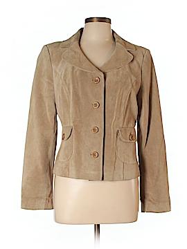 Ann Taylor LOFT Leather Jacket Size 12