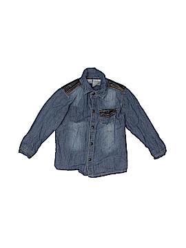 Kardashian Kids Long Sleeve Button-Down Shirt Size 24 mo