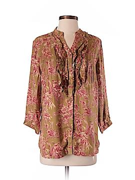 Soft Surroundings 3/4 Sleeve Blouse Size S