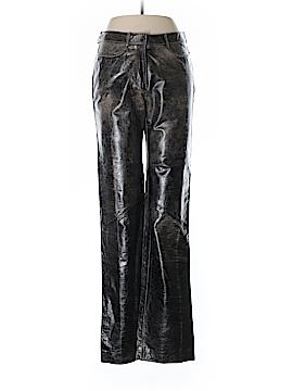 Roberto Cavalli Leather Pants Size M