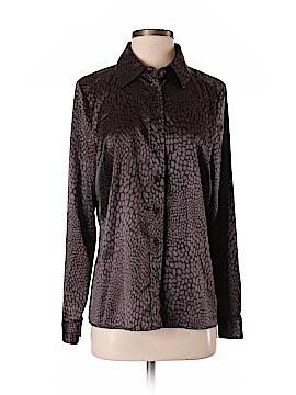 Pamela Dennis Long Sleeve Blouse Size S