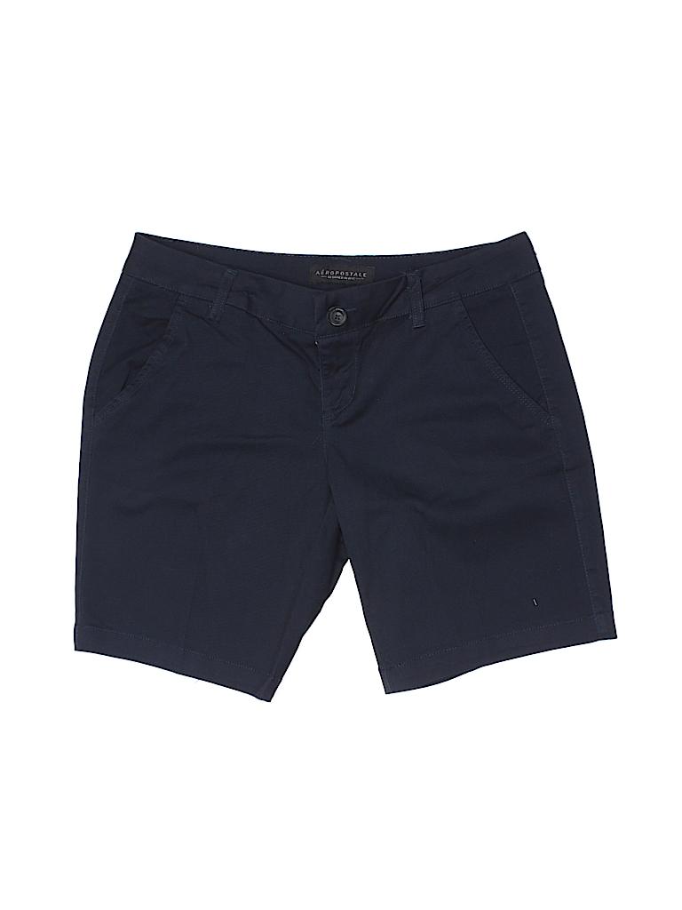 8f0924d23eb7e Aeropostale Dark Blue Khaki Shorts Size 4 - 95% off
