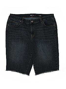 Style&Co Denim Shorts Size 18