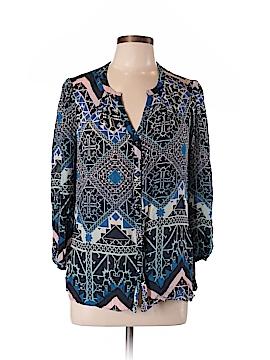 Leifsdottir 3/4 Sleeve Silk Top Size 12