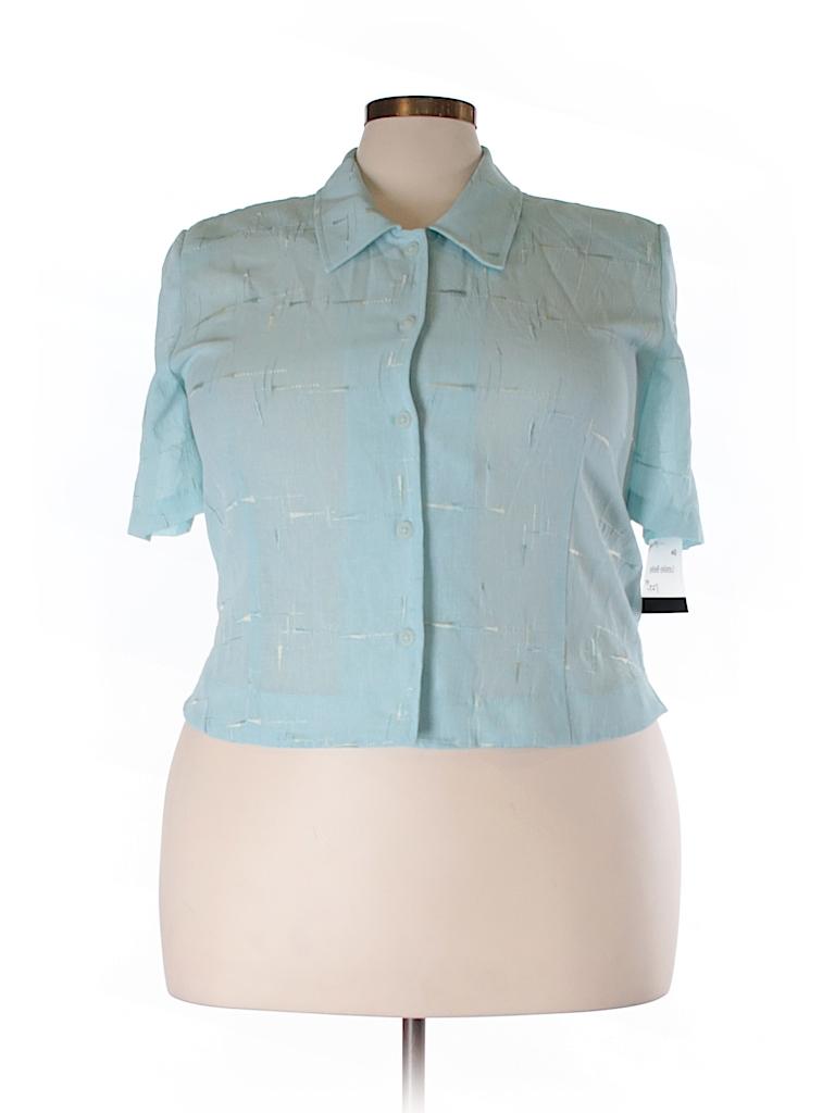 Alexander Hay Mens Plain Short Sleeves Formal Business Shirts Regular King Size ASS001