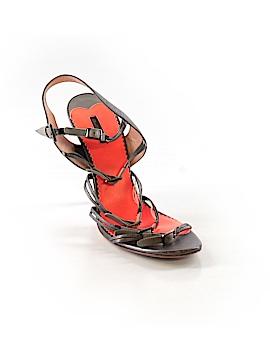 Diesel Black Gold Heels Size 40 (IT)