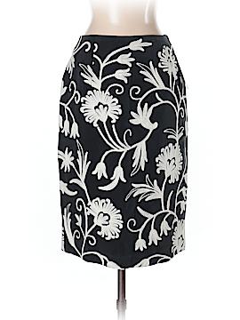 SILK CLUB COLLECTION Silk Skirt Size 4