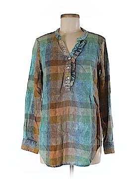 Isabella Sinclair Long Sleeve Button-Down Shirt Size XS