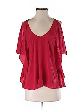 Hutch Short Sleeve Silk Top Size 2