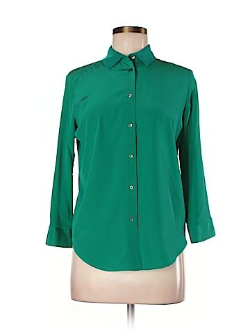 Sandro 3/4 Sleeve Silk Top Size S