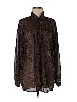 Gottex Long Sleeve Blouse Size L