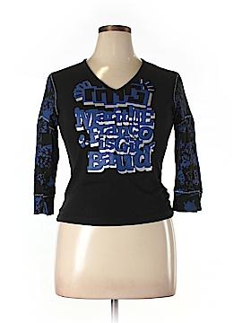 LE JEAN DE MARITHE FRANCOIS GIRBAUD 3/4 Sleeve T-Shirt Size XL