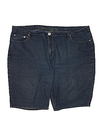 Avenue Jeans Denim Shorts Size 24 (Plus)