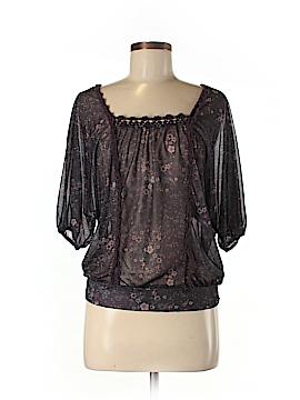 Eyelash Couture 3/4 Sleeve Blouse Size M
