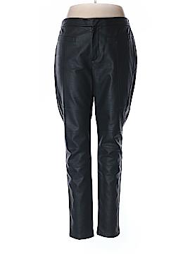 Carmakoma Faux Leather Pants Size 18 Plus (M) (Plus)