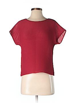 Lafayette 148 New York Short Sleeve Blouse Size P