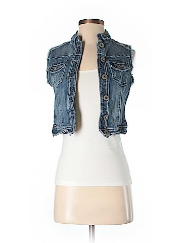 Amethyst Jeans Denim Vest Size S