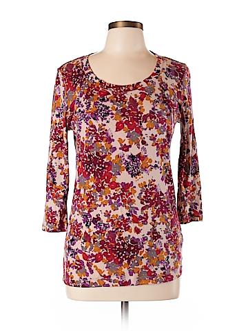 Nicole Miller 3/4 Sleeve T-Shirt Size L