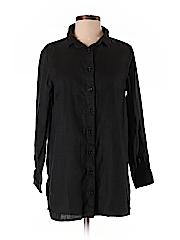 Garnet Hill Women 3/4 Sleeve Button-Down Shirt Size S (Petite)