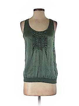 Massimo Dutti Sleeveless Silk Top Size XS