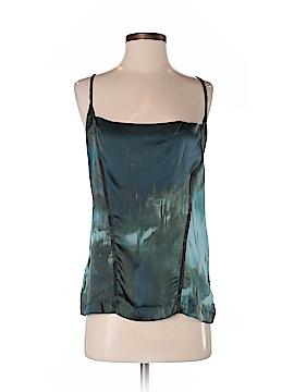 Diesel Short Sleeve Silk Top Size S