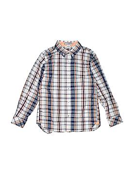 Kitestrings Long Sleeve Button-Down Shirt Size 7