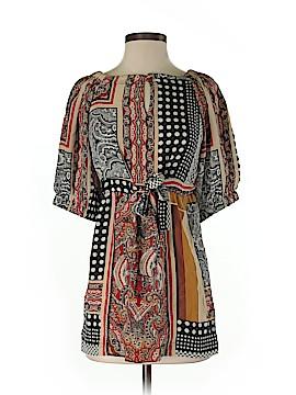 Single Los Angeles Short Sleeve Silk Top Size XS