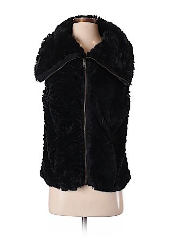 Fever Faux Fur Vest Size M