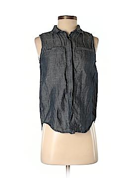 Madewell Sleeveless Button-Down Shirt Size XS