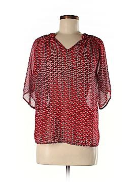 Myan Short Sleeve Blouse Size M