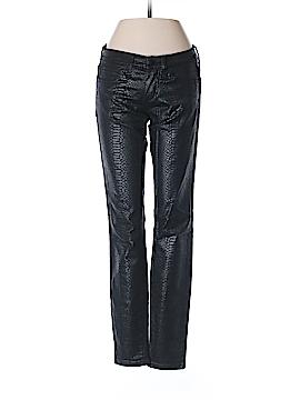 Bebe Faux Leather Pants 25 Waist