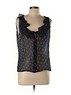 Lauren by Ralph Lauren Sleeveless Silk Top Size 12