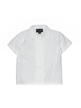 Oscar De La Renta Short Sleeve Button-Down Shirt Size 2T