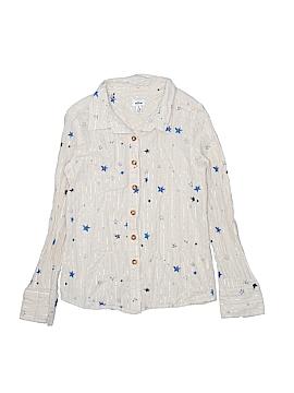 My Ruum Long Sleeve Button-Down Shirt Size 7 - 8