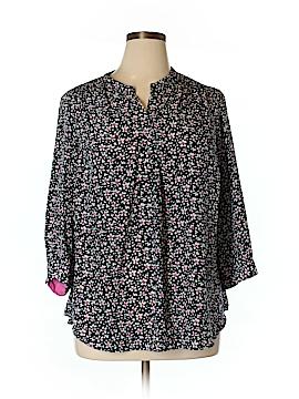 Delia 3/4 Sleeve Blouse Size XL