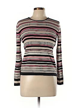 Neiman Marcus Silk Pullover Sweater Size M