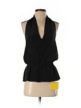 Aaron Ashe Sleeveless Silk Top Size M