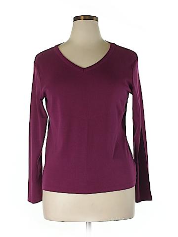Croft & Barrow  Long Sleeve T-Shirt Size XL