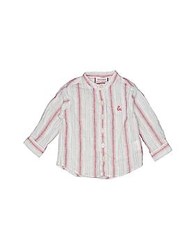 Neck & Neck Long Sleeve Button-Down Shirt Size 6-9 mo