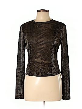Linda Allard Ellen Tracy Long Sleeve Top Size 10