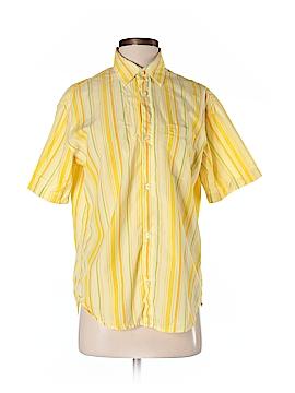FCUK Short Sleeve Button-Down Shirt Size S