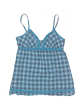Anchor Blue Sleeveless Blouse Size M